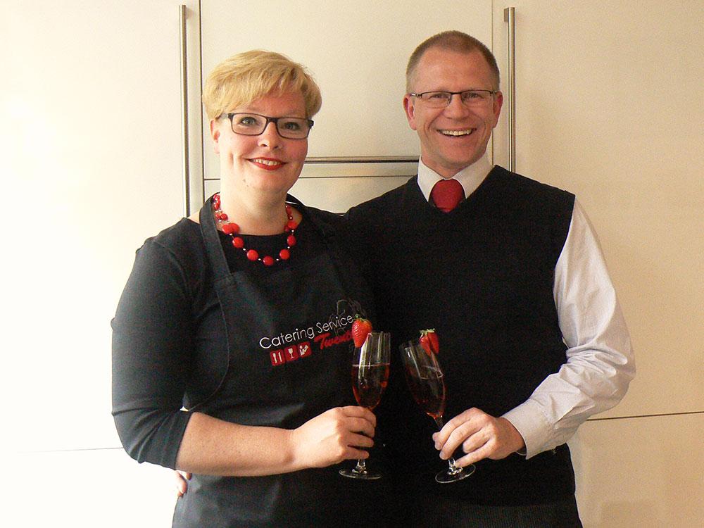 Edboud en Elvira. Catering Service Twente Hengelo.