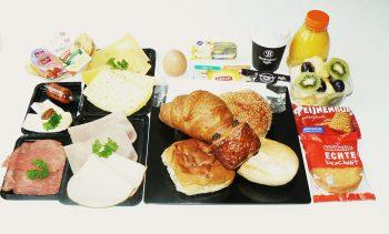 Super verwen ontbijt. Besteld bij Catering Service Twente.